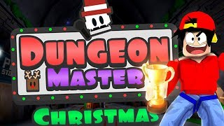 ROBLOX - CHAMPION MASTER CHRISTMAS DUNGEON!!!
