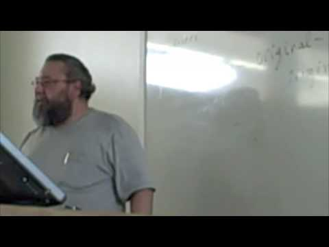 """Alex Caldiero lectures/performs in the course """"Language Most Dangerous of Possessions"""" part 2."""