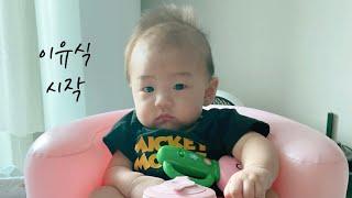 육아브이로그 / 산후다이어트 / 아기는 이유식 시작, …