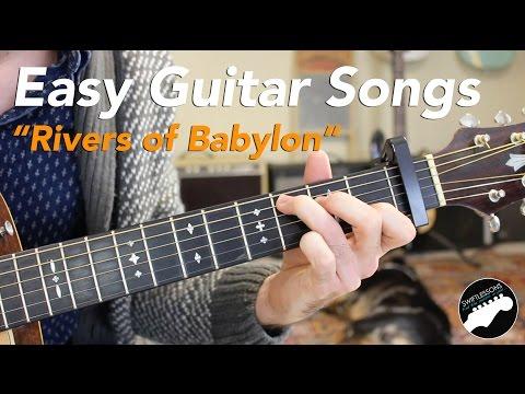 Easy Guitar Songs Rivers of Balon Sublime, Melodians, Boney M