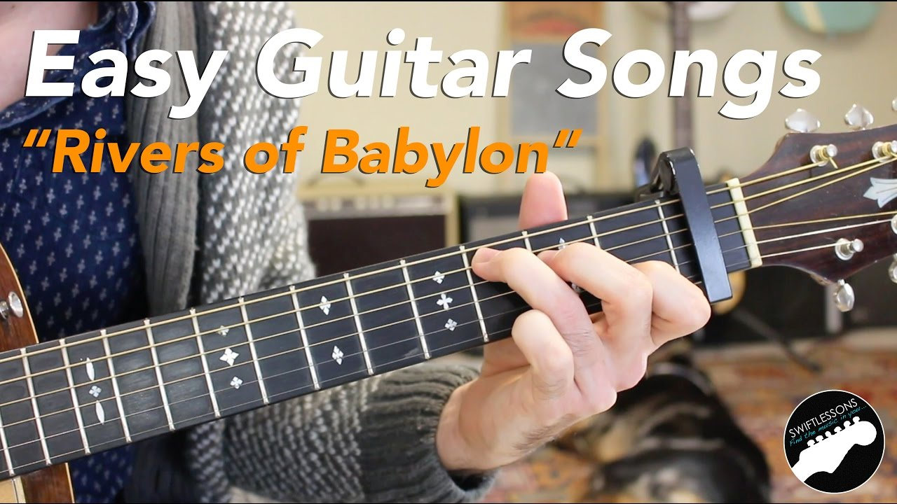 "Easy Guitar Songs ""Rivers of Babylon"" Sublime, Melodians, Boney M"
