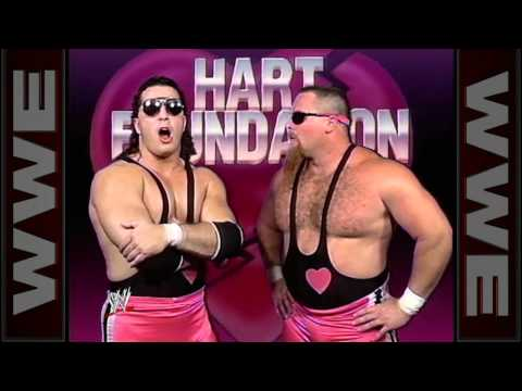 Jimmy Hart sells the Hart Foundation's contract