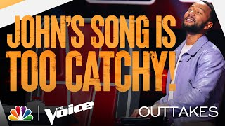 "Kelly, Nick and Blake Are Sick of ""Welcome to Team Legend"" - The Voice Blind Auditions 2021 Outtakes"