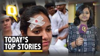 QWrap: WB Doctors Call Off Strike; Encephalitis Kill 100 in Bihar | The Quint