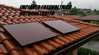 IMPIANTO FOTOVOLTAICO AUTOCOSTRUITO/IMPIANTO FOTOVOLTAICO FAI DA TE(Ciao a tutti, eccomi qui in questo nuovo video! Oggi vi mostrerò il mio impiantino fotovoltaico terminato. Spero che vi piaccia! Per qualsiasi cosa non esitate a ..., 2015-05-21T09:46:35.000Z)
