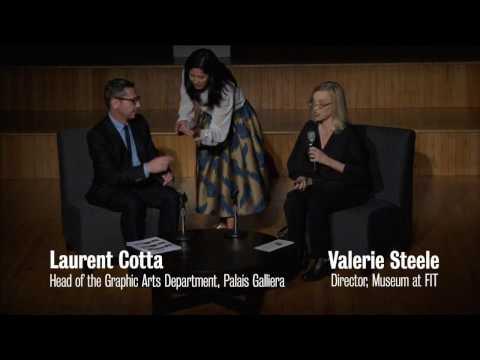 Symposium | Laurent Cotta and Dr. Valerie Steele in Conversation