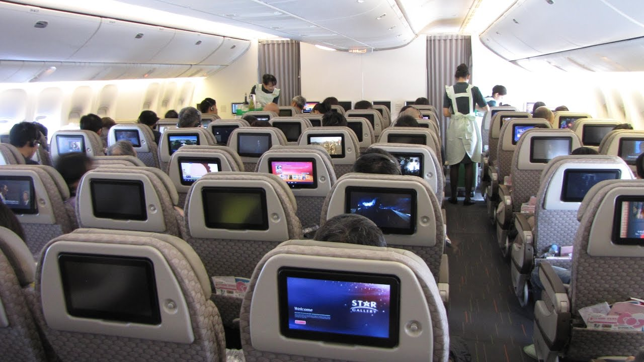 777 Interieur Flight Report Eva Air Paris Taipei Boeing 777 300er
