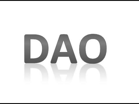 java dao pattern (data access object)