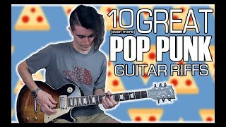 10 (even more) Great Pop Punk Riffs w/ Tabs
