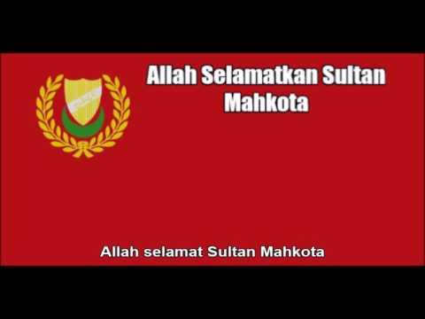 Malaysian State Anthem of Kedah (Allah Selamatkan Sultan Mahkota) - Nightcore Style + Lyrics