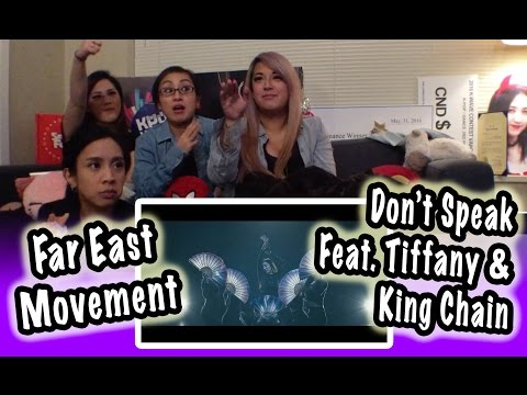 [MV REACTION] FAR EAST MOVEMENT -- DON'T SPEAK FEAT. TIFFANY 티파니 & KING CHAIN