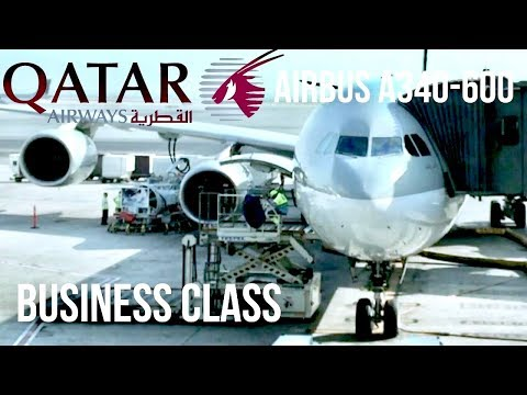 Qatar Airways Business Class Airbus A340-600 Doha to Colombo