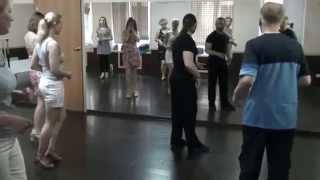 Уроки сальсы. Salsa lessons. Merengue базовые шаги