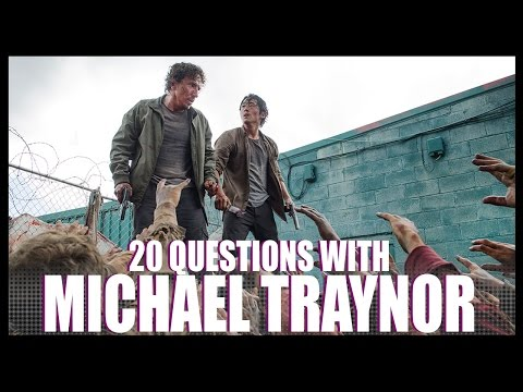 20 Questions w/ Michael Traynor from The Walking Dead!