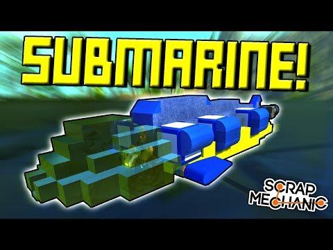 WATER BUOYANCY and HELIUM MOD! - Scrap Mechanic Gameplay