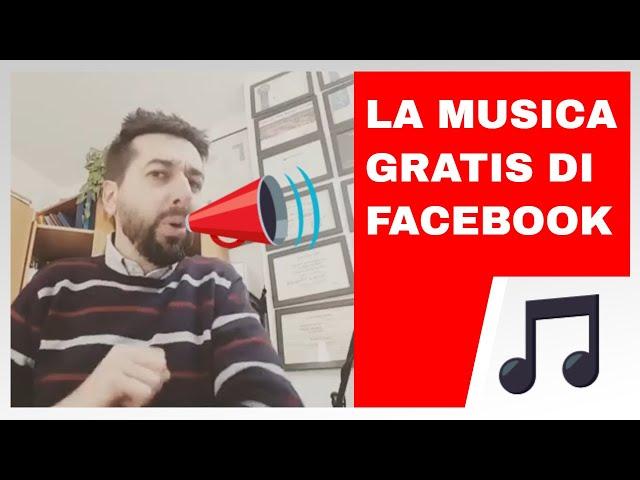 Audio di Facebook? Perché? - 1minutodiRug
