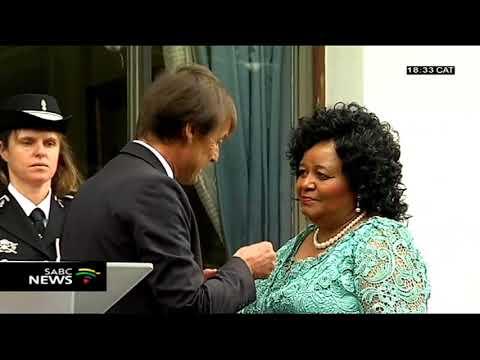 France bestows the Legion of Honour on Edna Molewa