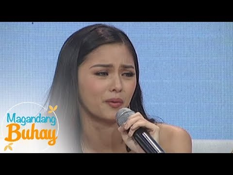 Magandang Buhay: Kim breaks down while giving her message to family