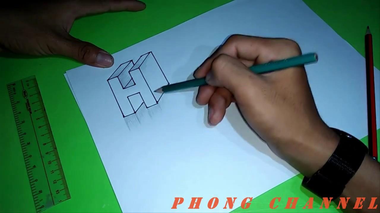 Cách vẽ 3D cực kỳ đơn giản _ DMP
