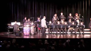 Watermelon Man - Valencia High School Jazz I Featuring Poncho Sanchez - 2013 Guest Artist Concert