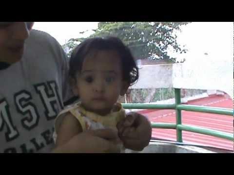 Senwyn teaching baby Briana how to dance! HAHAHAHA