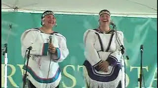 Inuit throat-singing demonstration