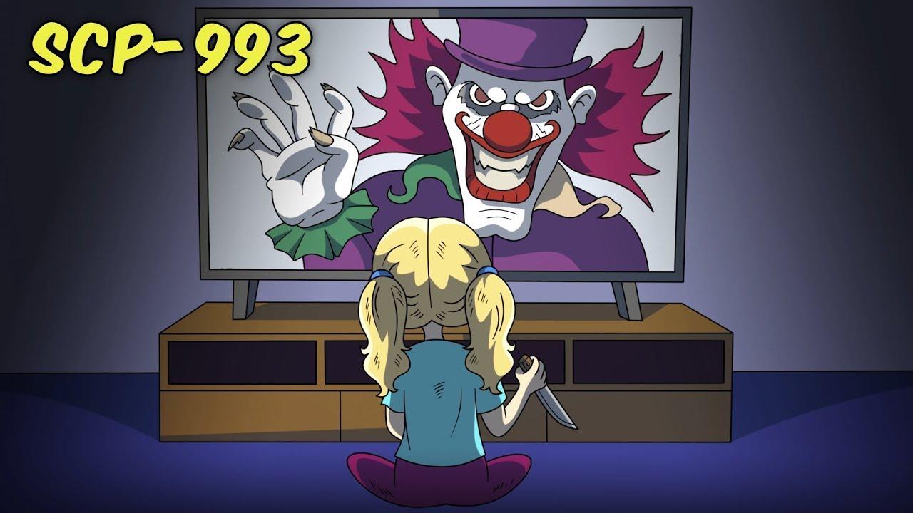 SCP-993 Bobble the Clown (SCP Animation)