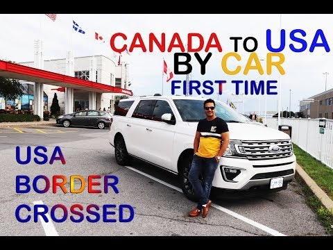 CANADA TO USA BY CAR II USA BORDER QUESTION ANSWER FULL INFORMATION