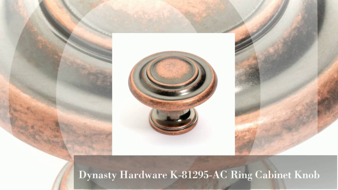 Dynasty Hardware Cabinet Pulls S Antique Copper