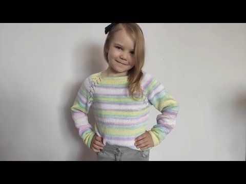 Кофточка вязаная для девочки 8 лет спицами