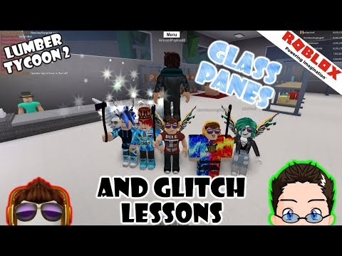Roblox - Lumber Tycoon 2 - Glass Panes