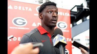 Check out what Georgia wide receiver Riley Ridley had to say on the first day of camp
