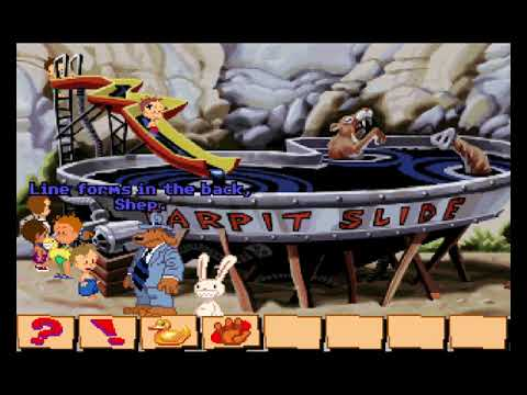 Let's Play Sam and Max Hit the Road 12 - Brutal Zingers |
