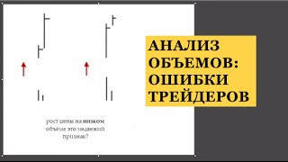 Анализ Объема: Ошибка Трейдеров при Анализе Объёмов