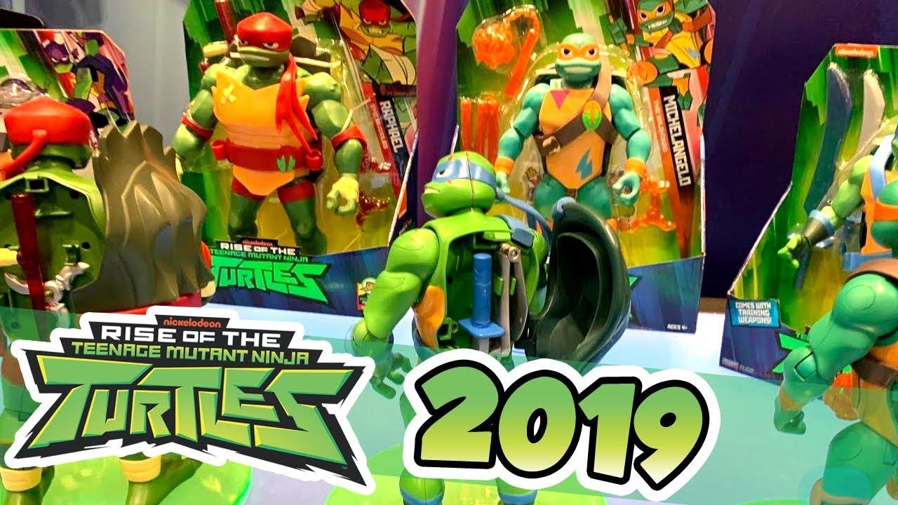 New Rise Of The Teenage Mutant Ninja Turtles Toys Youtube