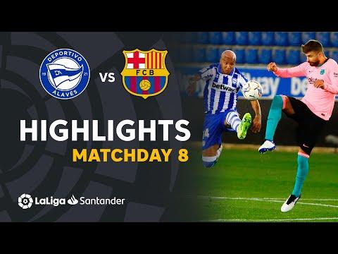 Highlights Deportivo Alavés vs FC Barcelona (1-1)