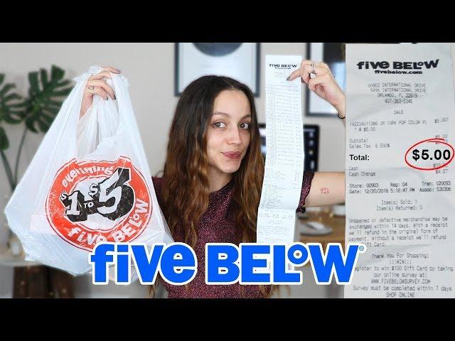 FULL FACE OF 5 BELOW MAKEUP | SHOCKING!!!!!