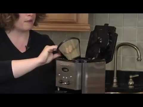 Review Best Coffeemaker Cuisinart DCC 1200 Brew Central 12Cup YouTube