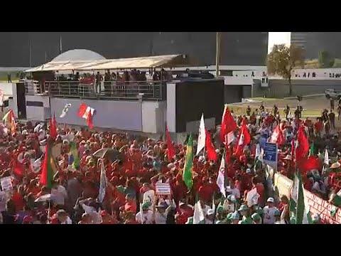 PT regista candidatura de Lula da Silva à Presidência do Brasil