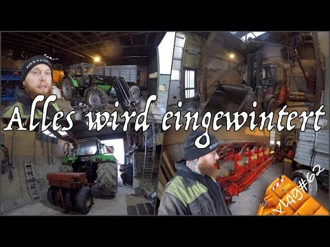 FarmVLOG#62 alles wird eingewintert