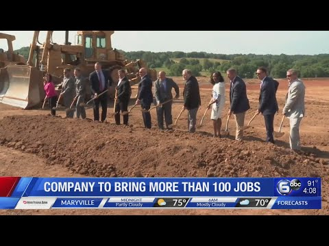 Company To Bring More Than 100 Jobs