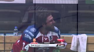 Мусатов бьет головой Ойстрика / Igor Musatov headbutts Nathan Oystrick