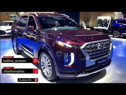 2020 Hyundai Palisade Redline First Look 2018 LA Auto Show