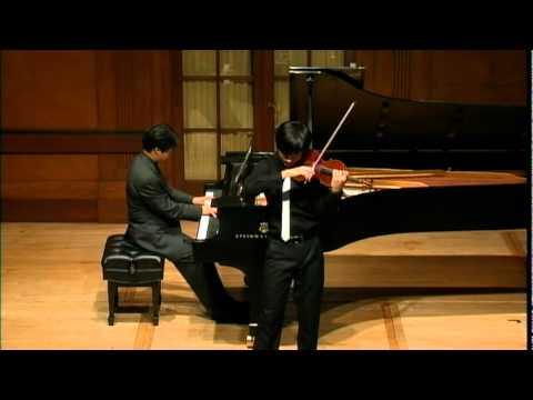 Sibelius violin concerto in D minor--Zeyu Victor Li. 15 years old.
