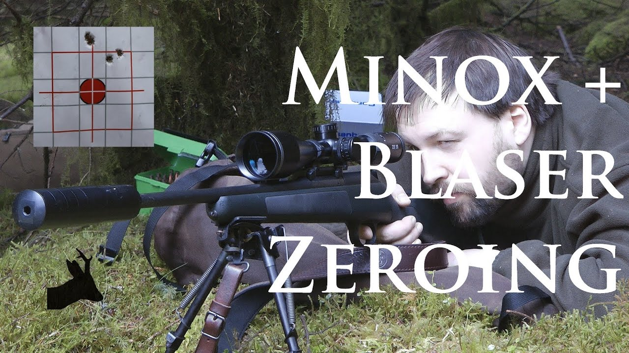 New minox ze i and blaser r zeroing session