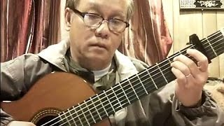 Đêm Lang Thang (Vinh Sử) - Guitar Cover by Bao Hoang