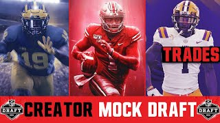 The Official 2021 YouTube NFL Mock Draft (3 Round Mock Draft With Trades)