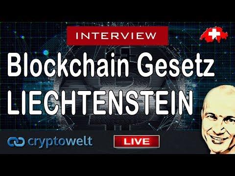 Blockchain Gesetz in Liechtenstein - Interview mit Rechtsanwalt Thomas Feldkircher