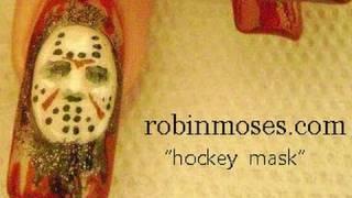 Nail Art   DIY Halloween nails   Jason Hockey Mask Design