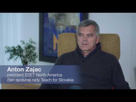Osobnosti o Teach for Slovakia